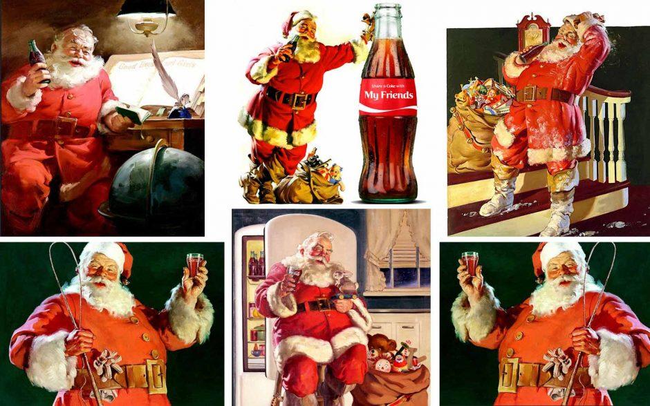 Ο Άγιος Βασίλης και η Coca Cola