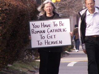 Πρέπει να είσαι Ρωμαιοκαθολικός για να πας στον Παράδεισο