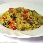 Ριζότο με σόγια και λαχανικά