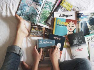 Τακτοποιήστε βιβλία και περιοδικά