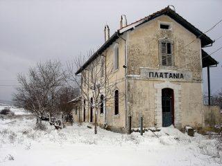 Τρένα και παλιοί σιδηροδρομικοί σταθμοί