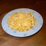 Αυγά με τυρί φέτα και άνηθο