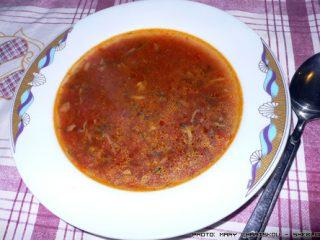 Ντοματόσουπα με μανιτάρια