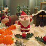 Χριστουγεννιάτικα γλυπτά με… ζαχαρόπαστα!