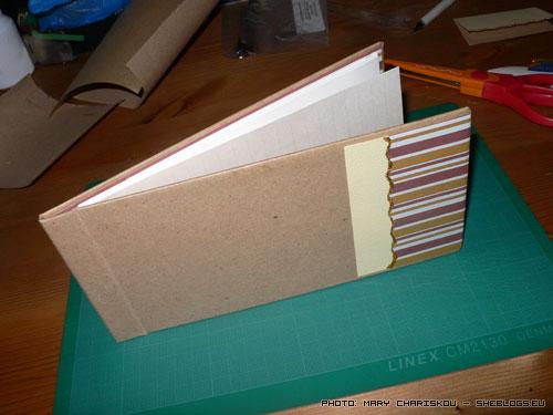 Μαθήματα βιβλιοδεσίας: Φτιάξτε σημειωματάρια - Ξεκινάμε από την αρχή τη βιβλιοδεσία και φτιάχνουμε ένα σημειωματάριο. Φωτογραφίες βήμα - βήμα για να τα καταφέρετε εύκολα