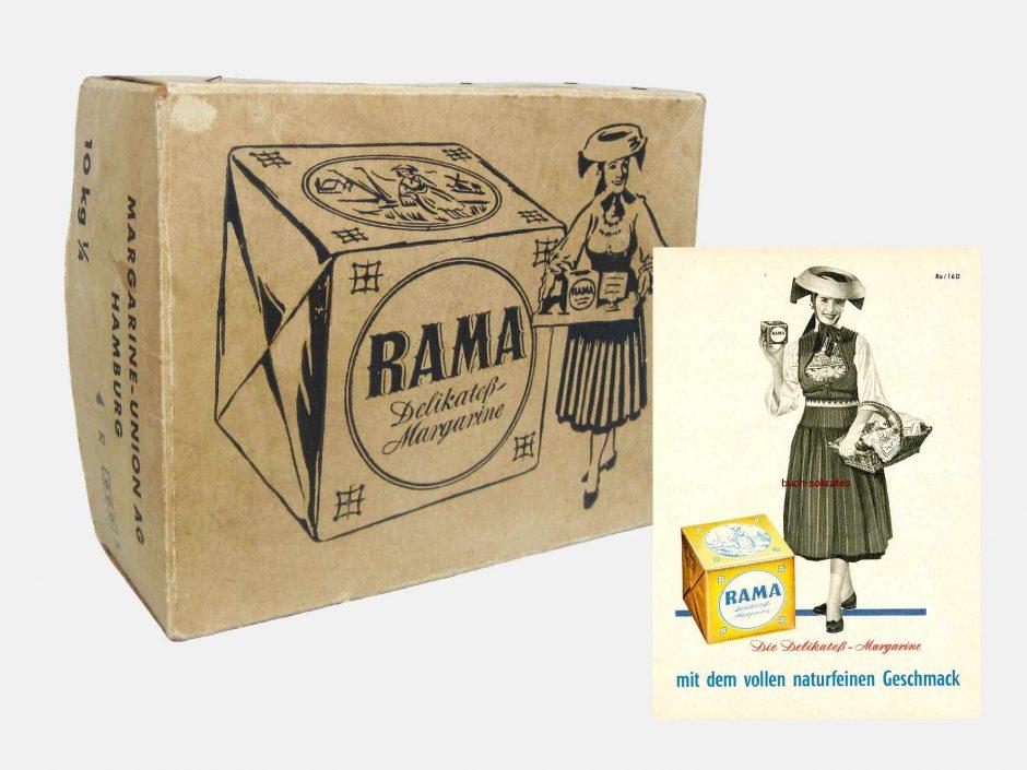 rama margarine- ράμα