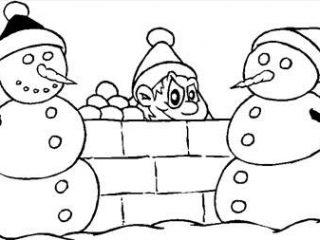 Χριστουγεννιάτικες σελίδες ζωγραφικής για παιδιά