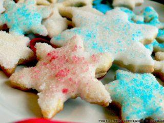 Διακοσμούμε τα Χριστουγεννιάτικα Μπισκότα μας με Ζάχαρη