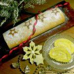 Συνταγή για γλυκό ρολό λεμόνι με παντεσπάνι