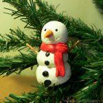 Φτιάξτε χιονάνθρωπο με αλατοζύμη