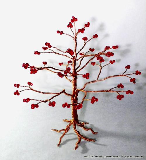 Κερδίστε χειροποίητα συρμάτινα δεντράκια με χάντρες - Γιορτές έχουμε οπότε αποφασίσαμε να σας κάνουμε δώρο πέντε πανέμορφα χειροποίητα συρμάτικα δεντράκια με χάντρες δια χειρός magica.