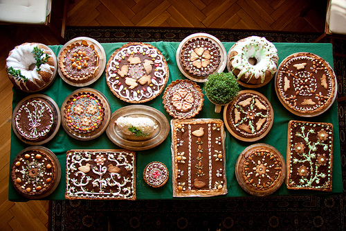Mazurek - Πασχαλινή Πολωνική σοκολατόπιτα - Τόσο όμορφη που λυπάσαι να τη φας! Πάμε να δουμε πως φτιαχνουν την Πασχαλινή τους σοκολατόπιτα στην Πολωνία.
