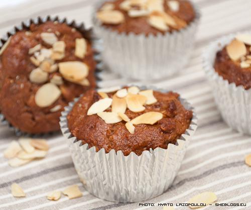 Mocha fig muffin