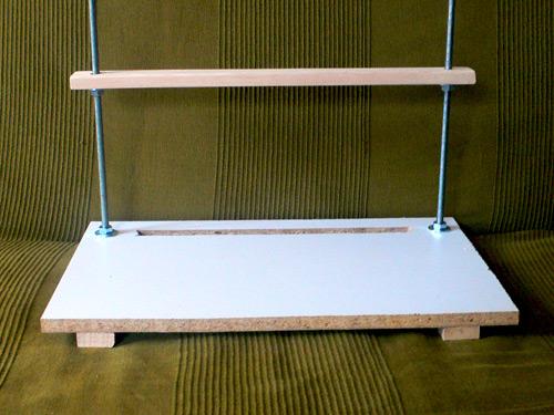 Φτιάξτε τεζάκι βιβλιοδεσίας (τελάρο κοινώς)