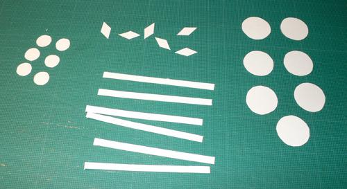 snowflake11 Χιονονιφάδες με χαρτί και χρυσόσκονες