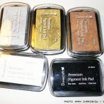 Clear Stamps, embossing powders, punches και λοιπά