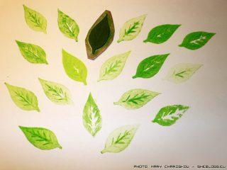 Φτιάξε σφραγίδες από αφρώδες πλαστικό φύλλο