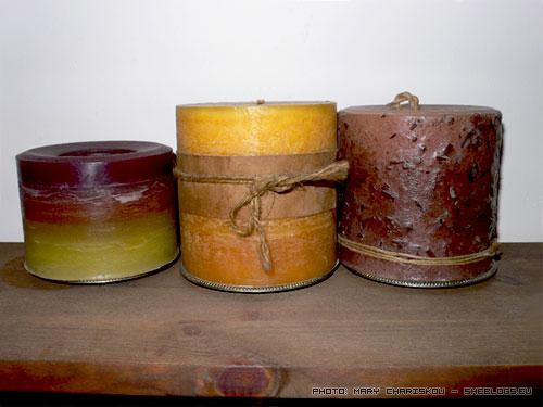 Φτιάχνουμε κεριά - Μια σειρά βοηθημάτων για την κηροπλαστική που θα σας μάθει να φτιάχνετε τα πρώτα σας χειροποίητα κεριά.