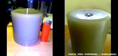Ανακυκλώνουμε παλιά κεριά για να φτιάξουμε νέα κεριά - Ο ευκολότερος και πιο συνηθισμένος τρόπος για να ξεκινήσεις με την κηροπλαστική είναι μέσω ανακύκλωσης παλιών κεριών που έχουν ξεμείνει στο σπίτι