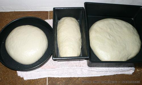 Σπιτικό ζυμωτό ψωμί - βήμα βήμα και για άσχετους