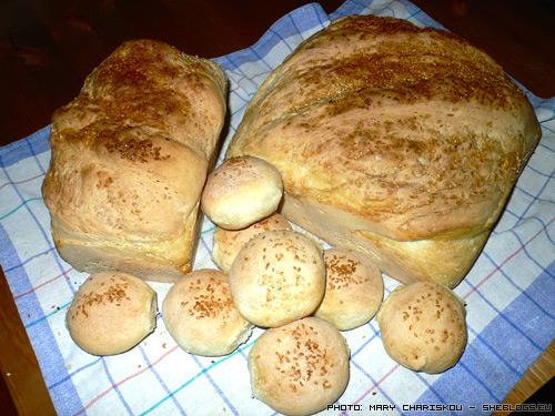 spitiko psomi Σπιτικό ζυμωτό ψωμί   βήμα βήμα και για άσχετους