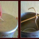 Προετοιμασία φυτιλιού για κατασκευή κεριών