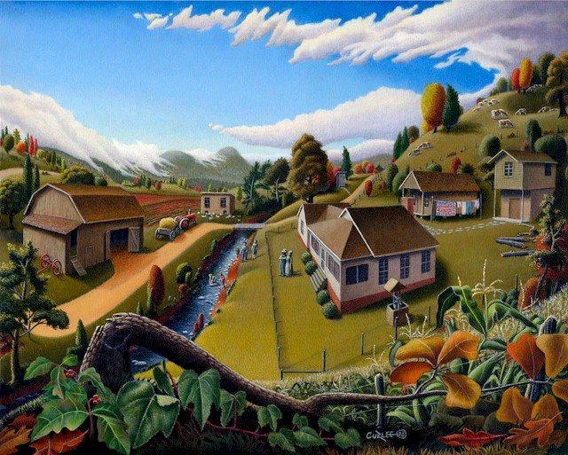 Για όσους θέλουν να φύγουν από την πόλη... - Όταν φεύγεις από την πόλη δεν σε περιμένει πάντα μια ανθηρή, ρομαντική και φτιαγμένη ζωή στο χωριό... έχει δυσκολίες και πολύ δουλειά...