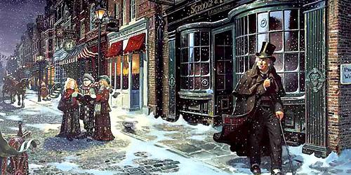 Χριστούγεννα αλά Ντίκενς - Κουφάλα Grinch μη χαίρεσαι που δεν έχουμε φράγκο! τράβα κρύψου στη φωλιά σου γιατί εμείς θα αγαπάμε πάντοτε τα Χριστούγεννα αλά Ντίκενς...