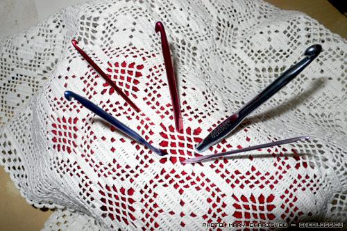 Πλέξιμο με βελονάκι (τσιγκελάκι) - Ορολογία βασικών πλέξεων