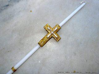 Φτιάξε πασχαλινή λαμπάδα με σταυρό