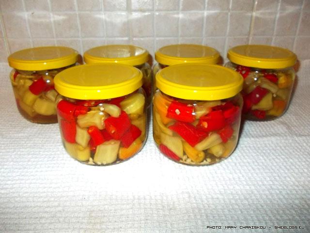 Καυτερές Πιπεριές σε Βάζο - Διατηρήστε καυτερές πιπεριές σε βάζα για να έχετε να τρώτε καυτερές όλο το χειμώνα