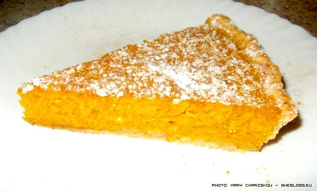 Τάρτα κολοκύθας με τυρί και σιμιγδάλι - Οκτώβρης χωρίς γλυκό με κολοκύθα δε γίνεται! Σε λίγο θα γεμίσει η αγορά με κολοκύθες και επιβάλεται να τις χρησιμοποιήσουμε