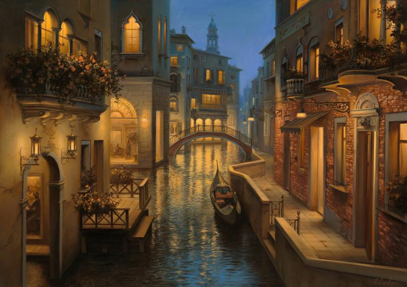 Η τέχνη του Evgeny Lushpin - Σύγχρονος ρώσος ζωγράφος που θα μπορούσε άνετα να ανήκει και στο παρελθόν αν παρατηρήσεις τη δεξιοτεχνία με την οποία κλέβει το φως.