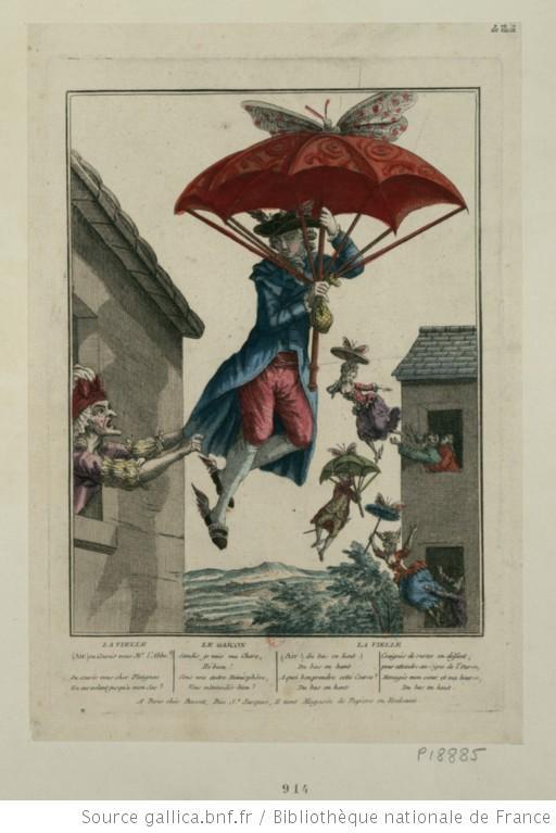Πετούσαν με ομπρέλες πολύ πριν τη Mary Poppins - Αν αγαπάτε τη Mary Poppins με την ομπρέλα της σίγουρα θα αγαπήσετε και αυτή την εικόνα που είναι τουλάχιστον έναν αιώνα παλιότερη.