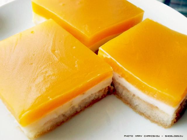 glyko fryganies portokali Vintage! Καλοκαιρινό γλυκό με μελωμένες φρυγανιές, κρέμα γάλακτος και κρέμα πορτοκάλι
