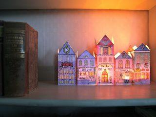 Φτιάξε φωτιζόμενο χριστουγεννιάτικο χωριό