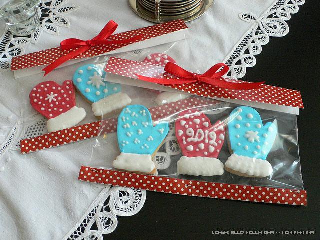 Συσκευάστε Χριστουγεννιάτικα Κουλουράκια για δωράκια - Μπορείτε να κάνετε φτηνά δωράκια σε παιδιά με τα χριστουγεννιάτικα κουλουράκια σας αν τα συσκευάσετε όμορφα!