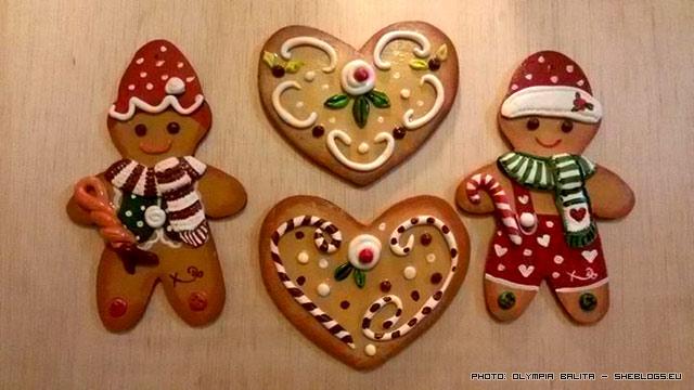 Τα χειροποίητα χριστουγεννιάτικα στολίδια της Ολυμπίας - Πανέμορφα χειροποίητα χριστουγεννιάτικα στολίδια που γίνονται εύκολα με λίγο μεράκι και θυμίζουν χριστουγεννιάτικα κουλουράκια