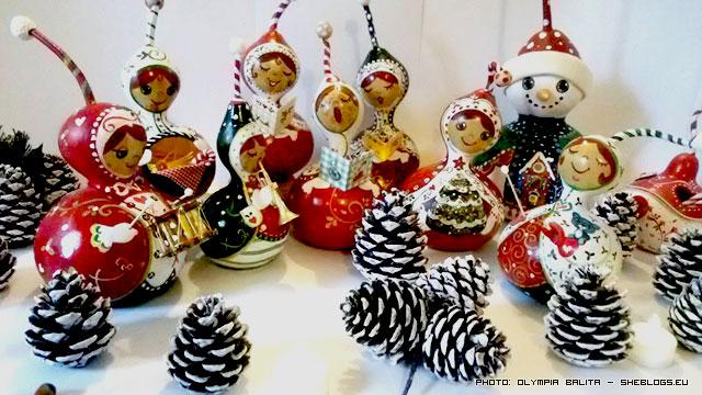 Οι χριστουγεννιάτικες κολοκύθες της Ολυμπίας λένε τα κάλαντα - Χριστούγεννα χωρίς κάλαντα δε γίνονται! Κι αν σου λένε τα κάλαντα αυτές οι υπέροχες χειροποίητες κολοκυθοκυρίες ακούγονται ακόμα πιο όμορφα