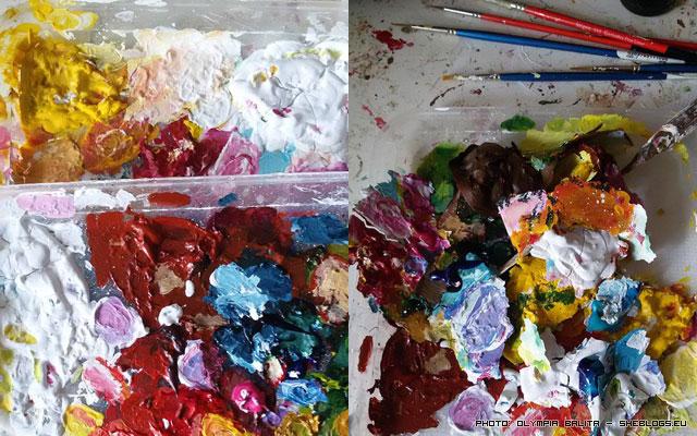 Μήπως βαρέθηκες να ξοδεύεις χρήματα για ακρυλικά χρώματα που στεγνώνουν στην παλέτα - Βρήκαμε λύση για τον καλοκαιρινό μπελά του ζωγραφού! Όχι που δε θα βρίσκαμε....