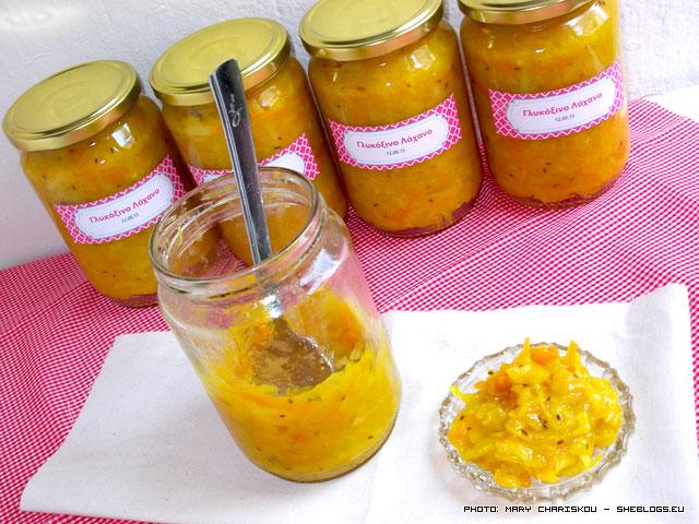 Γλυκόξινο λάχανο σε βάζα – relish