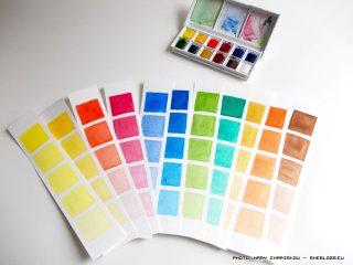 Φτιάχνω στένσιλ για color charts