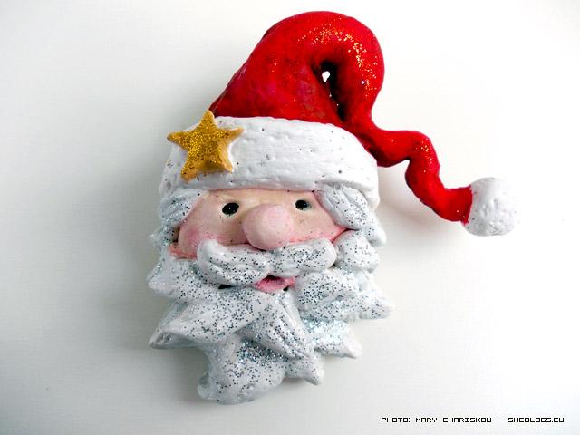 Άγιος Βασίλης από αλατοζύμη