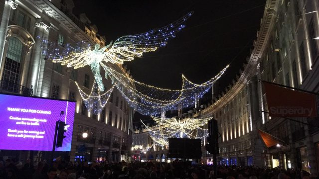 Regent Street Christmas Lights London