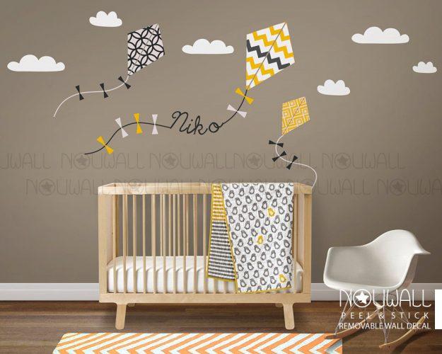 Βάλε έναν χαρταετό στον τοίχο σου
