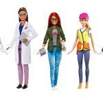 Αλλάζει το σκηνικό στις barbie επιτέλους γιατί τα κορίτσια μπορούν να γίνουν ότι θέλουν