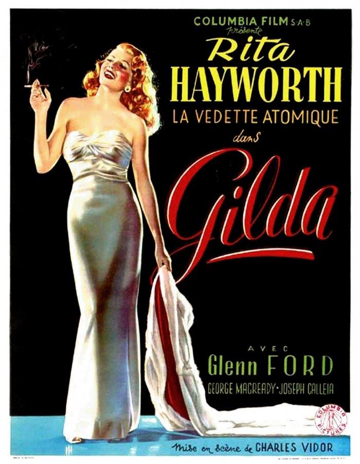 Οι αφίσες της εφηβείας μας - Gilda