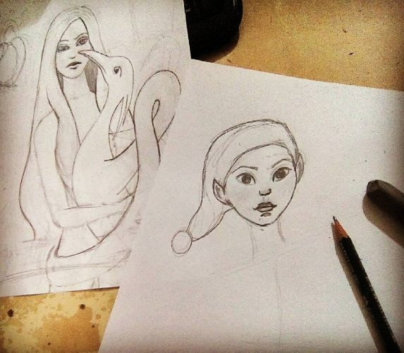 marychariskou-drawing