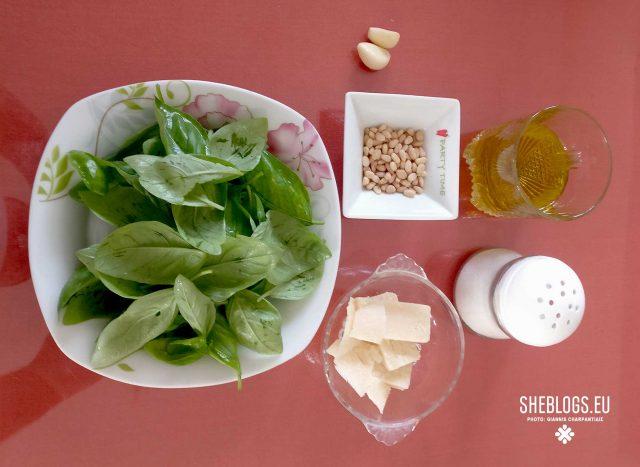 Pesto alla Genovese, το πέστο της Tiziana