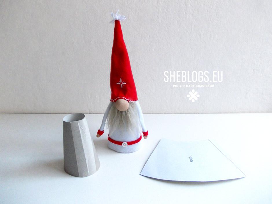 Φτιάξε χριστουγεννιάτικα ξωτικά